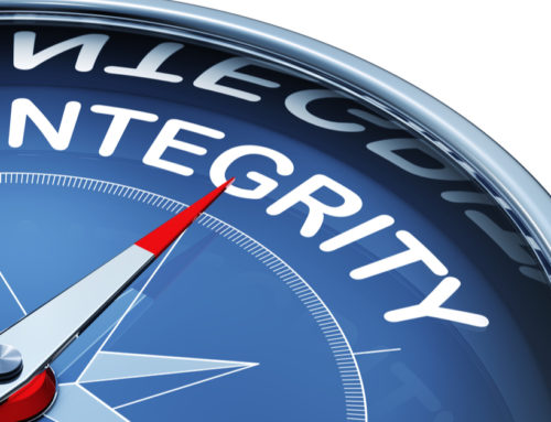 What does high-integrity leadership require of you?